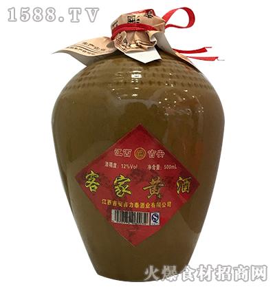 吉力泰客家黄酒500ml