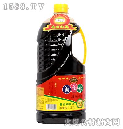 唐伯府红烧复合调味汁2.7L