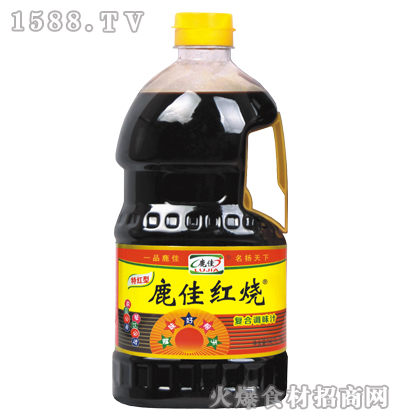 鹿佳红烧复合调味汁1L