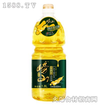 崂山非转基因大豆油1.8L