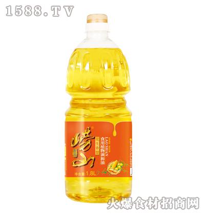 崂山花生香型食用植物调和油1.8L