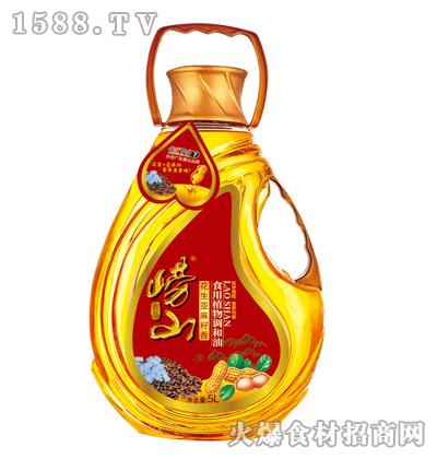 崂山花生亚麻籽香食用植物调和油5L