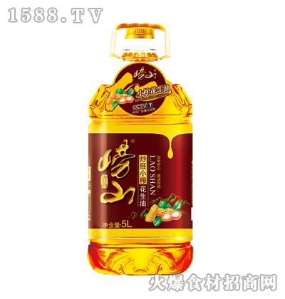 崂山炒胚小榨花生油5L