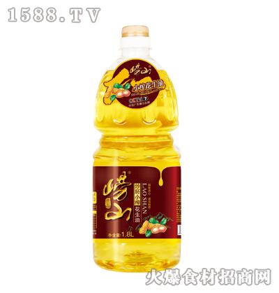 崂山炒胚小榨花生油1.8L