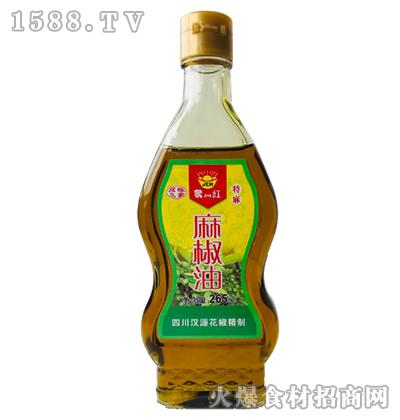 聚川红麻椒油265ml