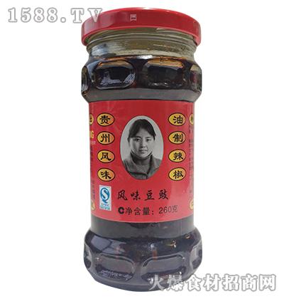 风味豆豉260克-农头妹