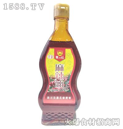 聚川红麻辣油265ml