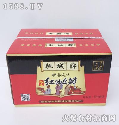 驰城牌红油豆瓣(郫县风味)