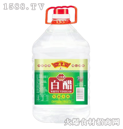 厨舞白醋(白米醋)5L