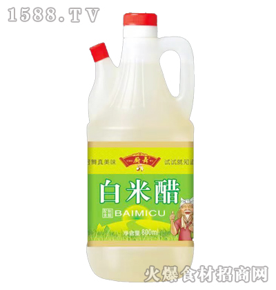 厨舞白米醋(配制食醋)800ml