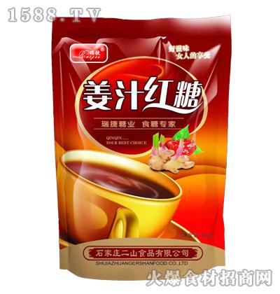 瑞捷姜汁红糖300克