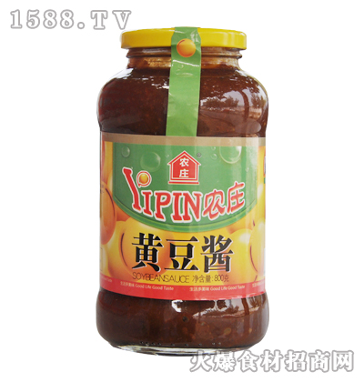 农庄黄豆酱800克