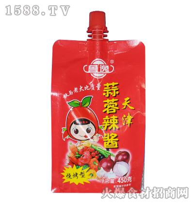 农庄天津蒜蓉辣酱450克