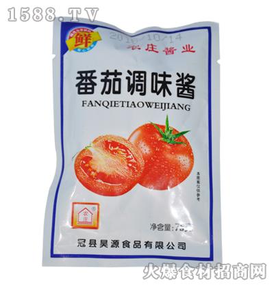 农庄番茄调味酱75克