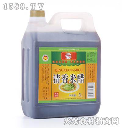 青云山清香米醋2L桶装