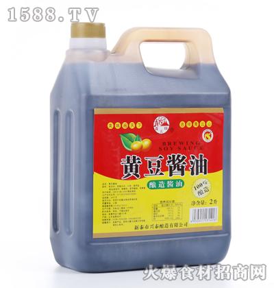 青云山黄豆酱油2L