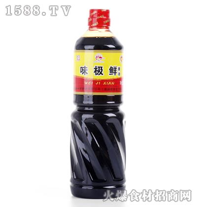 青云山味极鲜酱油瓶装
