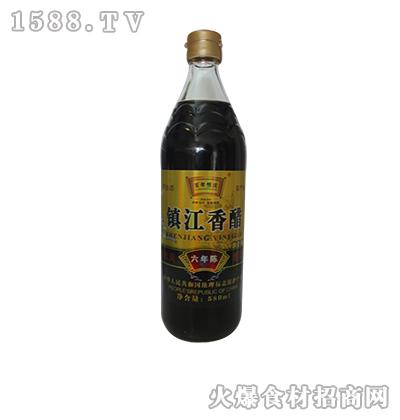 百年恒庆镇江香醋580ml