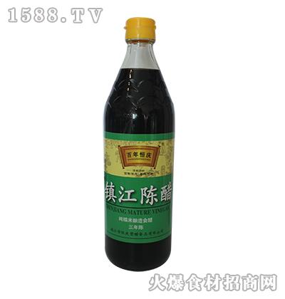 百年恒庆镇江陈醋