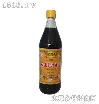 百年恒庆镇江姜汁香醋500ml