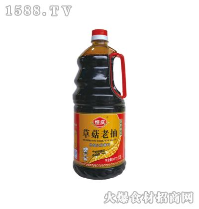 恒庆草菇老抽800ml(塑料壶)