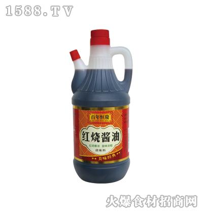 恒庆红烧酱油800ml