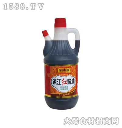 恒庆镇江红酱油800ml