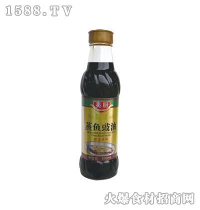 亮厨蒸鱼豉油500ml(灯笼瓶)
