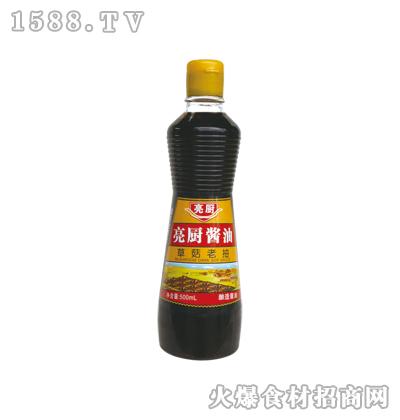 亮厨草菇老抽500ml(主妇瓶)