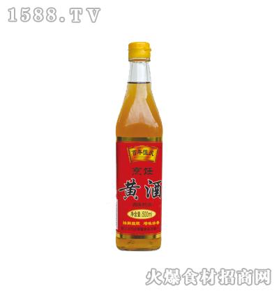 亮厨烹饪黄酒500ml(方瓶)