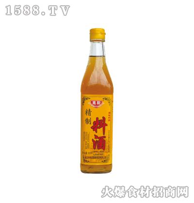 亮厨精制料酒500ml(方瓶)