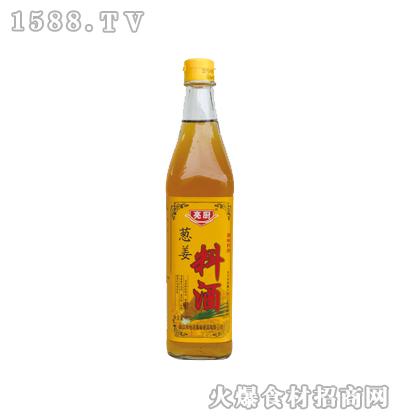 亮厨葱姜料酒500ml(方瓶)