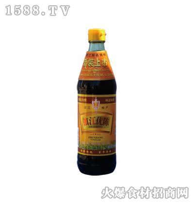 恒庆牌镇江优陈醋500ml(麻光瓶)