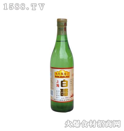同聚堂上海白醋500ml(螺口瓶)