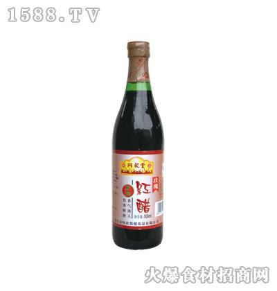 同聚堂红醋500ml(螺口瓶)