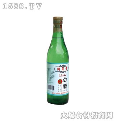 同聚堂牌白醋500ml(螺口瓶)