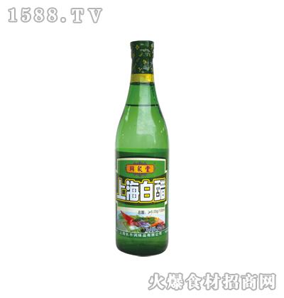 同聚堂牌上海白醋500ml(螺口瓶)
