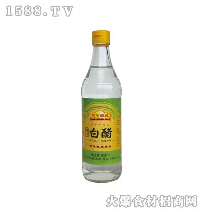 恒庆牌镇江白醋500ml(麻光瓶)