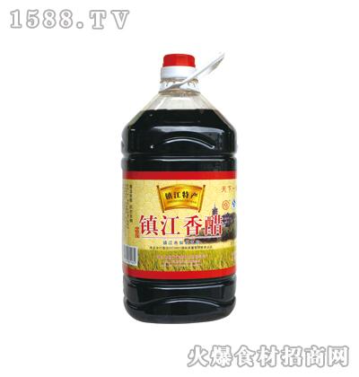 恒庆牌镇江香醋4.9L