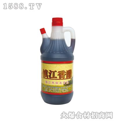 镇江香醋800ml(塑料壶)-恒庆牌