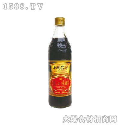 恒庆牌镇江陈醋580ml(鱼鳞纹瓶)
