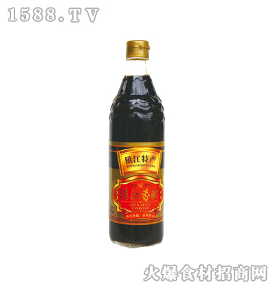 恒庆牌镇江香醋580ml(鱼鳞纹瓶)