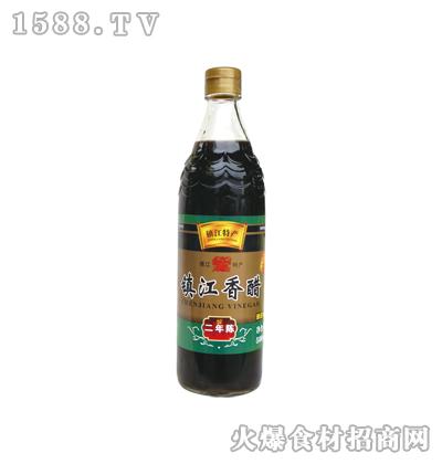 恒庆牌镇江香醋二年陈580ml(鱼鳞纹瓶)
