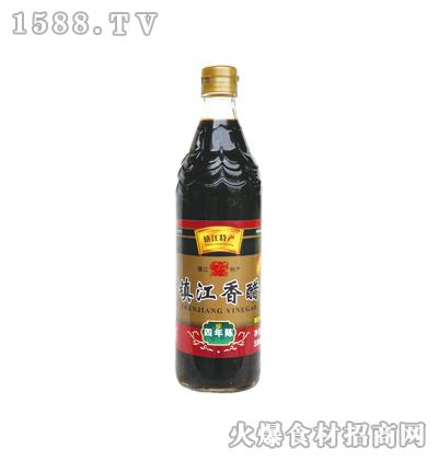 恒庆牌镇江香醋四年陈580ml(鱼鳞纹瓶)