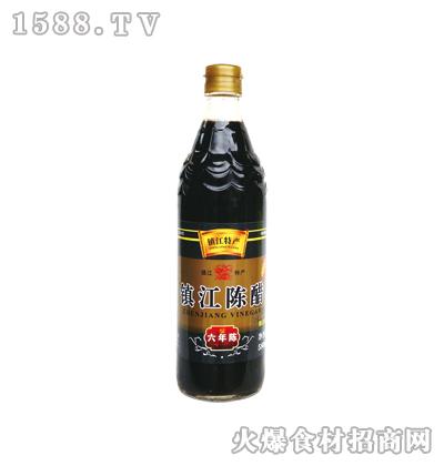 恒庆牌镇江陈醋六年陈580ml(鱼鳞纹瓶)