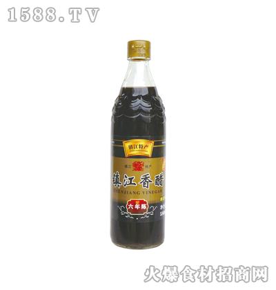 恒庆牌镇江香醋六年陈580ml(鱼鳞纹瓶)