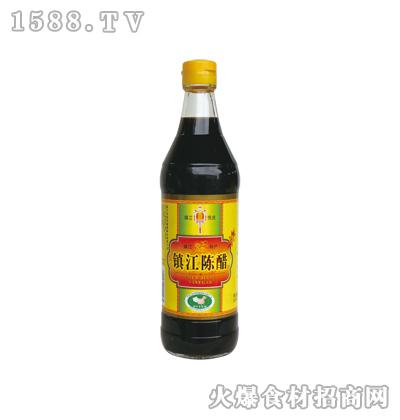 恒庆牌镇江陈醋500ml(麻光)
