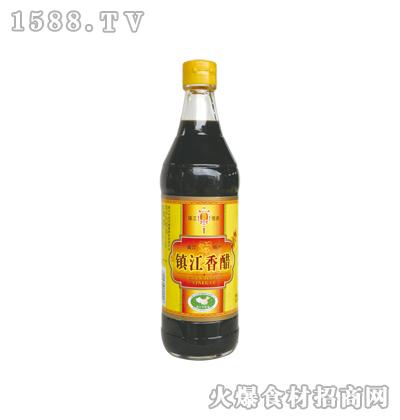 恒庆牌镇江香醋500ml(麻光)