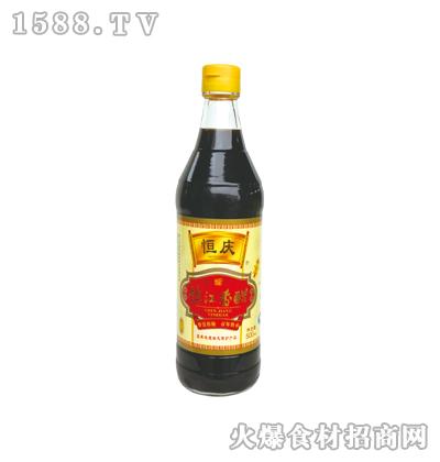恒庆镇江香醋500ml(麻光瓶)