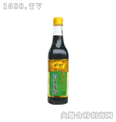 恒庆牌镇江陈醋500ml(方瓶)